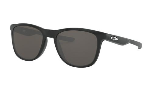 Oakley OO9340-01 Trillbe X Matte Black Frame / Warm Gray Lenses Sunglasses - Brand New