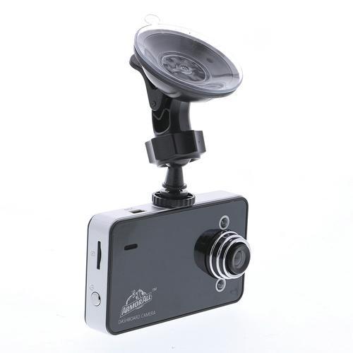 Armor All ADC2-1003-BLK Universal HD Dashboard Camera-Black