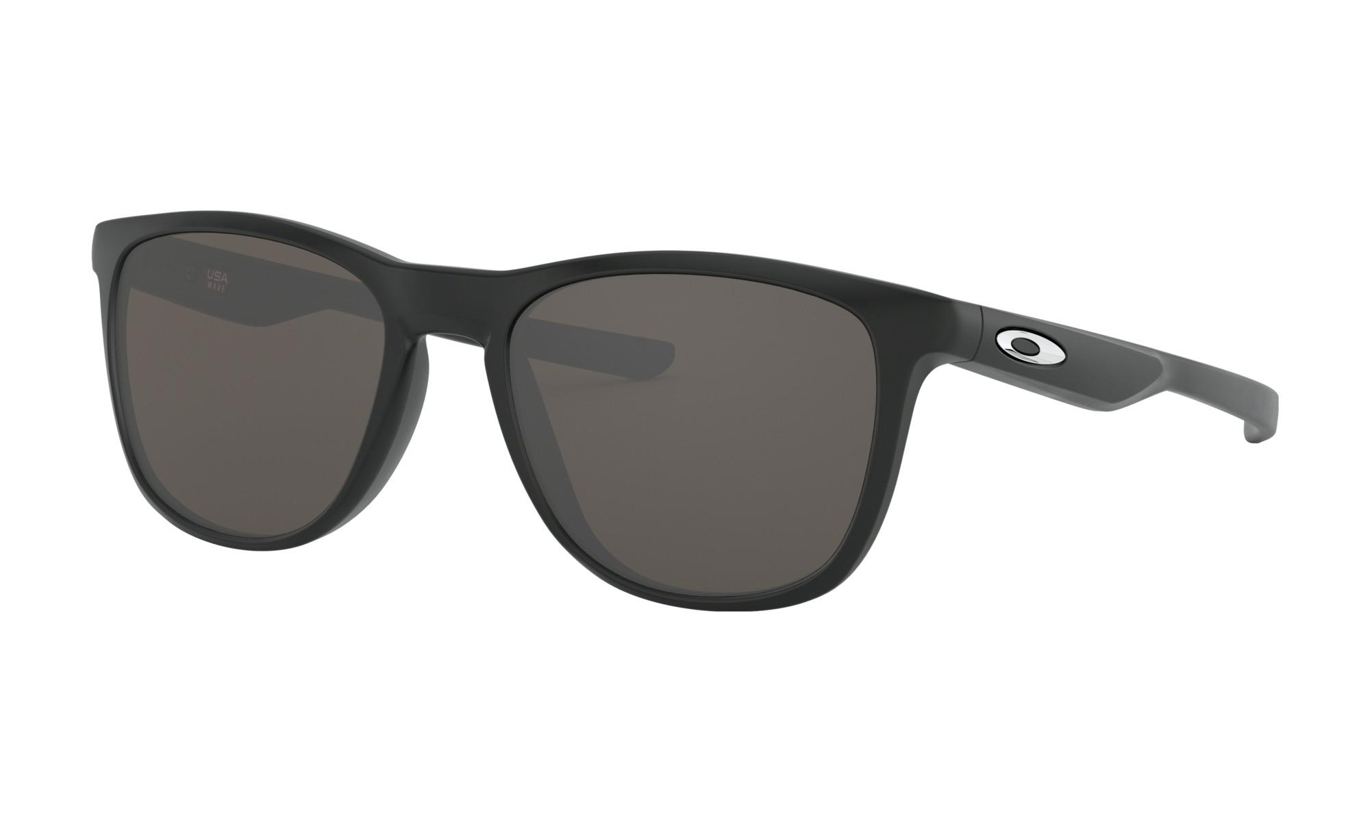 c03ad71e3ed Oakley OO9340-01 Trillbe X Matte Black Frame   Warm Gray Lenses Sunglasses  - Brand New. oo9340-01-1.jpg