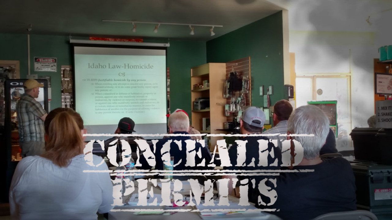 Concealed permits