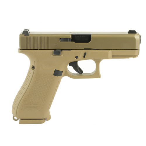 Glock 19X Night Sights 19 Rounds Coyote Color