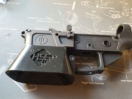 "The"" Mag Eater Magwell""  for PCC PWS Metal Lowers."