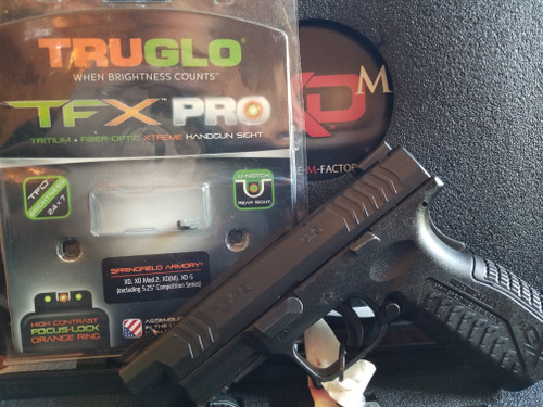 "Springfield XDM 9 4.5 "" With TruGlow TFX PRO night sights, Used"