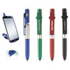 Logo Stylus Flashlight Pen and Cell Phone Stand