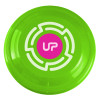 "9"" Promotional Frisbee, Custom Printed Flying Disk Toys - Neon Green"