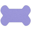 Bone Shaped Shammy Towel - Periwinkle
