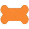 Bone Shaped Shammy Towel - Orange