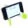 Promotional V-Fold Tablet & Cell Phone Stand - With Phone