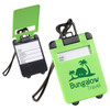 Suitcase Shaped Luggage Tags - Green