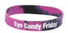 Silicone Wristbands -1/2 Inch Debossed (Swirled)