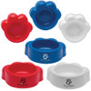 Paw Shaped Pet Bowls with Custom Imprint