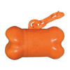 Bone Shaped Pet Waste Bag Dispensers - Orange