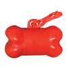 Bone Shaped Pet Waste Bag Dispensers - Red