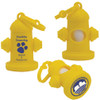 Fire Hydrant Dog Waste Bag Dispensers, Custom Printed - Yellow