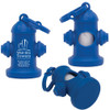 Fire Hydrant Dog Waste Bag Dispensers, Custom Printed - Blue