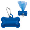 Bone Dog Waste Bag Dispensers, Custom Printed - Blue