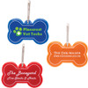 Promotional Bone Shaped Reflective Dog Collar Tags