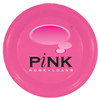 """9"""" Promotional Flying Disks for Dogs - Neon Pink"""