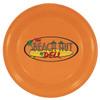 "9"" Promotional Flying Disks for Dogs - Neon Orange"
