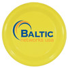 """9"""" Promotional Flying Disks for Dogs - Neon Yellow"""