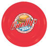 """9"""" Promotional Flying Disks for Dogs - Red"""