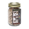 Mini Dog Bones in Pint Jar with Business Card Magnet
