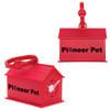 Dog House Promotional Waste Bag Dispensers - Red