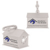 Dog House Promotional Waste Bag Dispensers - White