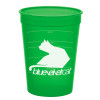 Promotional Pet Food Measuring Cups - Translucent Green
