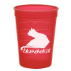 Promotional Pet Food Measuring Cups - Translucent Red