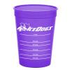 Promotional 16 oz Pet Food Measuring Cups - Translucent Violet