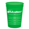 Promotional 16 oz Pet Food Measuring Cups - Translucent Green
