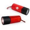 Pet Poop Bag Dispenser LED Flashlight - Red