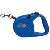 16ft Retractable Pet Leash with Custom Logo - Blue