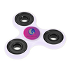 Fidget Spinners with Promotional Imprint - White