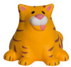 Fat Cat Squeezies Stress Relievers - Front (Blank)