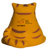 Fat Cat Squeezies Promotional Stress Relievers - Back Imprint