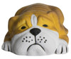 Bull Dog Lying Down Squeezies Stress Relievers - Front