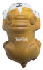Bull Dog Lying Down Squeezies Stress Relievers - Top Imprint