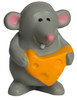 Mouse with Cheese Squeezies Stress Relievers - Front
