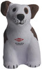 Sitting Dog Squeezies Stress Relievers - Front (2C Imprint)