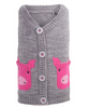 Cardigan Sweater for Dogs, Pig