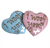 I Woof You Heart Dog Cookies (Case of 12 Treats)