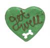 Get Well Heart Dog Cookies (Case of 12 Treats)