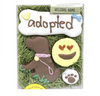 """Welcome Home Dog Cookie Gift Box - Unisex """"Adopted"""""""