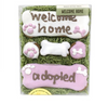 Welcome Home Dog Cookie Gift Box - Girl