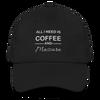 Coffee & Mascara Hat - Black