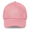 Coffee & Mascara Hat - Pink