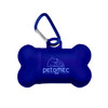 Bone Waste Bag Dispenser - Transparent Blue