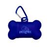Bone Waste Bag Dispenser - Transparent Blue